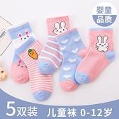兒童襪子寶寶女童襪子春秋款純棉男童嬰兒可愛公主中筒襪秋冬季棉