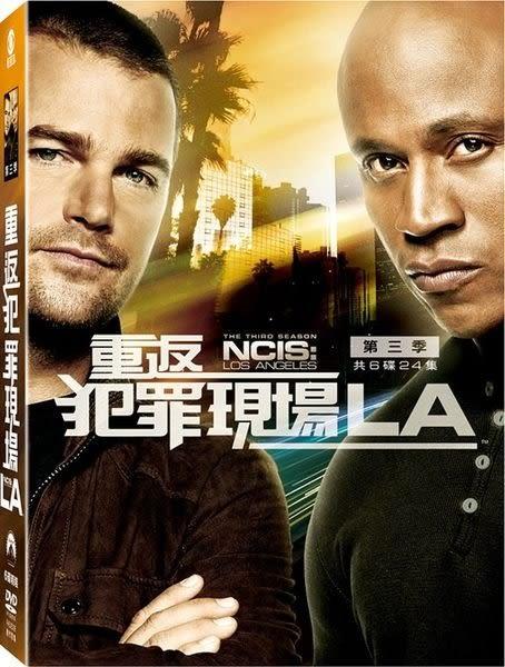 重返犯罪現場LA 第三季 DVD 歐美影集  (購潮8)