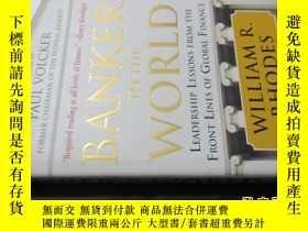 二手書博民逛書店BANKER罕見TO THE WORLD 世界銀行家 大32開精