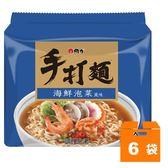 維力 手打麵 海鮮泡菜風味湯麵 80g (5入)x6袋/箱