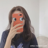 iPhone手機殼自拍擋臉6s蘋果x手機殼XSMax/XR/iPhoneX/8plus/7/6女款iphone潮可愛卡通矽膠殼