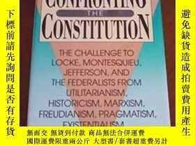 二手書博民逛書店Confronting罕見The Constitution-對抗憲法Y436638 Allan David B