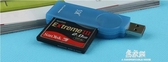 USB高速讀卡器單反相機CF卡專用讀卡器 易家樂