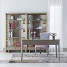 [紅蘋果傢俱] 美式 後現代 輕奢ML676S(ML677/ML6727C/F)書桌/裝飾櫃/餐椅 書台 辦公桌 桌椅