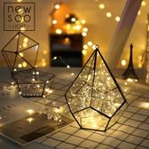 彩燈閃燈串燈防水led燈串滿天星房間臥室裝飾燈銅線小燈泡