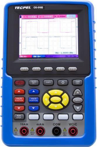 泰菱電子◆100MHz 掌上型數位示波器+三用電表OS-3102(贈送32G隨身碟) TECPEL