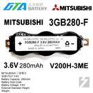 ✚久大電池❚ 日本 三菱 MITSUBISHI 3GB320-F 3.6V V200H-3ME 【PLC工控電池】MI10