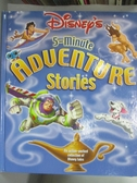 【書寶二手書T3/少年童書_ZBS】Disney's 5-Minute Adventure Stories_Heller
