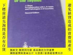 二手書博民逛書店英文原版醫學書《Histological罕見Typing of Tumours of the Thymus》胸腺的