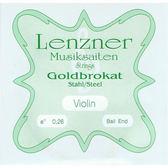 小叮噹的店- 小提琴 (第一弦 E弦) 德國 LENZNER Goldbrokat