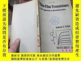 二手書博民逛書店thin-film罕見transistors a new app