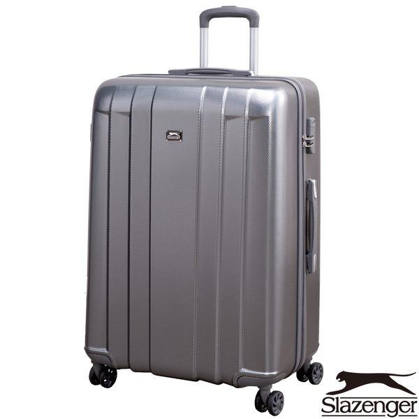 Slazenger 史萊辛格 28吋PET都會傳說系列行李箱(灰)