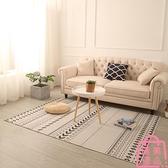 80*120厘米 地毯茶幾毯北歐臥室房間床邊簡約沙發地墊【匯美優品】