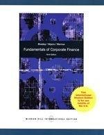 二手書博民逛書店《Fundamentals of Corporate Finan