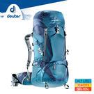 deuter ACT Lite輕量拔熱式透氣背包3340315(50+10L) / 城市綠洲 (登山背包、運動旅遊、德國品牌)
