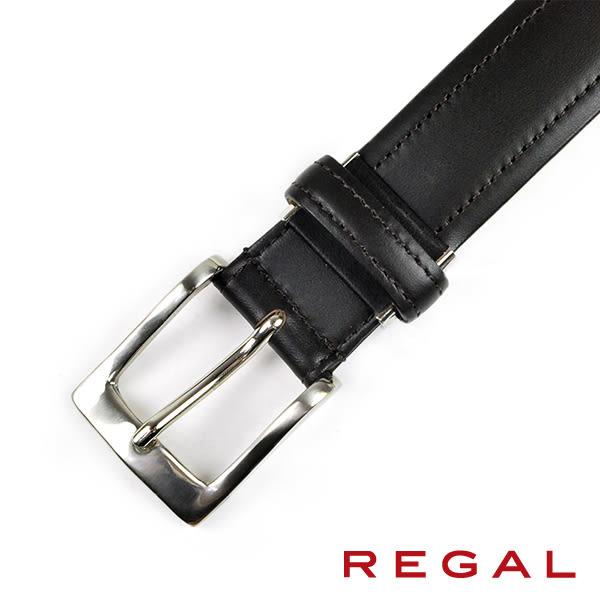 【REGAL】質感紳士皮帶 深咖(ZR040-DBR)
