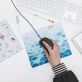 文藝清新插畫滑鼠墊 時尚創意滑鼠墊 可愛卡通植物滑鼠墊?Korea時尚記?
