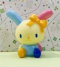 【震撼精品百貨】U-Sa-Ha-Na_花小兔~三麗鷗花兔子人形軟膠/啾啾玩具#00236