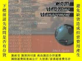 二手書博民逛書店Global罕見Marketing Management (4t