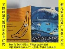 二手書博民逛書店the罕見monster from underground 地下怪物Y200392