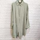 棒棒糖童裝(C3232)夏女裝素面薄款長罩衫F