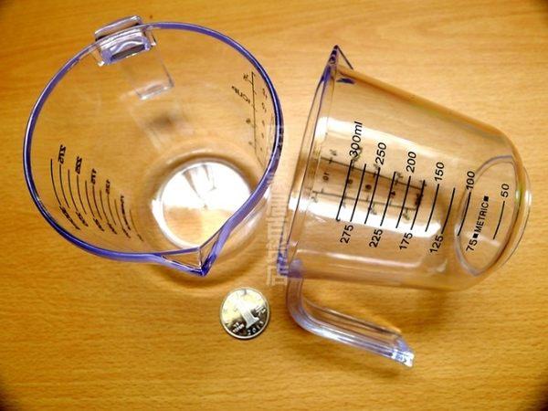 [協貿國際]  加厚透明塑料量杯  2個價