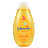嬌生 Johnson's 嬰兒溫和洗髮露 500ml 嬰兒 洗髮精 洗髮乳 7903