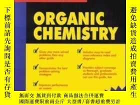 二手書博民逛書店3000罕見Solved Problems In Organic Chemistry (schaum s Solv