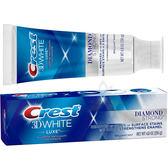 【一天出貨】Crest 3D White Luxe 專業級奢華亮白牙膏1條 加大量136g【百奧田旗艦館】