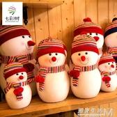 雪人娃娃圣誕節裝飾品雪人公仔一家三口場景布置擺件擺飾圣誕雪人 遇見生活