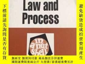 二手書博民逛書店Administrative罕見LAW and process