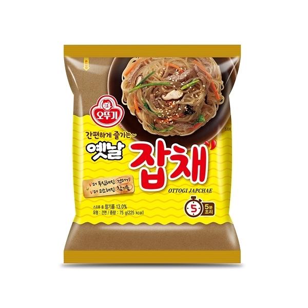韓國不倒翁 乾拌冬粉(73g)【小三美日】