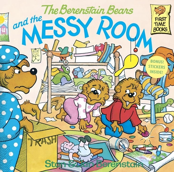 The Berenstain Bears and the Messy Room (英文版)