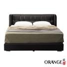 【采桔家居】吉布地 現代6尺皮革雙人加大床台組合(床頭+床底+不含床墊)