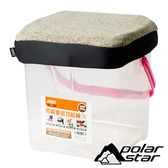 PolarStar 台灣 個人野餐坐墊 (P888 RV桶專用坐墊套)『深卡其』P17441 RV桶.置物桶.收納桶.收納箱