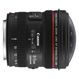 CANON EF 8-15mm f/4L fisheye USM (平輸)