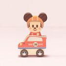 Disney KIDEA 迪士尼益智平衡積木 小木塊 米奇賽車組_BD24908