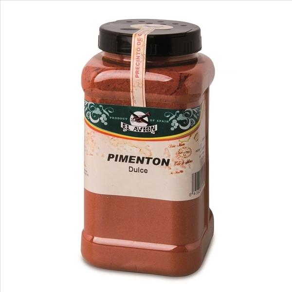 西班牙 El Avion 香料航家甜味紅椒粉(家庭號包裝) Mild Paprika catering pot 900g