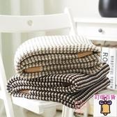 針織毯 午休蓋毯 沙發毯 毛線毯休閒手工裝飾毯子【 叮噹百貨】