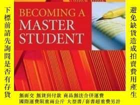 二手書博民逛書店Becoming罕見A Master StudentY256260 Toft, Doug (edt)  Man