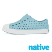 native 小童鞋 JEFFERSON 小奶油頭鞋-天空藍x貝殼白