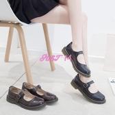 娃娃鞋女日系娃娃鞋女秋季新款復古圓頭學院風搭扣小皮鞋lolita軟妹單鞋 交換禮物