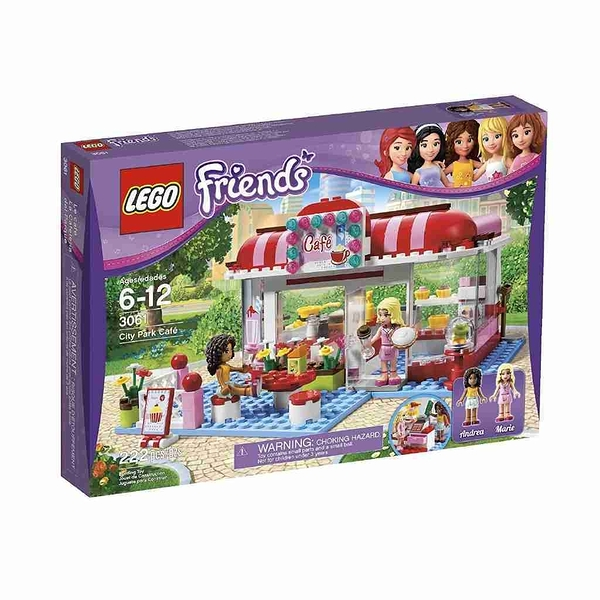 LEGO 樂高 Friends 好朋友系列 City Park Cafe 城市公園咖啡屋 3061