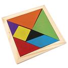 【奇奇文具】STAT A1287 木製七巧板/智力拼圖