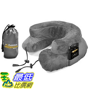 [美國直購] 航空坐飛機用頸枕睡枕枕頭 Cabeau AE0234 Air Evolution Inflatable Neck Pillow + Small Bag