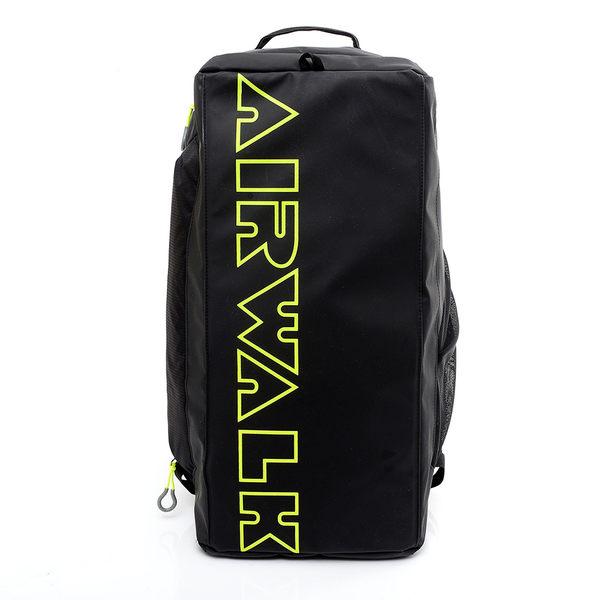 美國AIRWALK -超個性手提+後背旅行大包(黑) A431323420