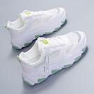 運動鞋 老爹女鞋子ins潮2021夏季新款小雛菊小白休閒運動網面透氣跑步鞋 歐歐