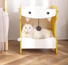 貓狗窩四季通用貓窩夏天吊床寵物用品狗床貓咪床窩吊籃木制貓屋 小山好物