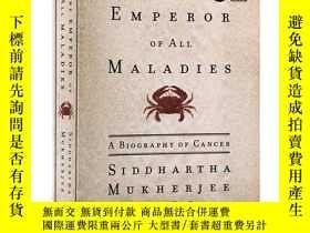 二手書博民逛書店衆病之王癌症傳罕見英文版 The Emperor of All