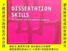 二手書博民逛書店Dissertation罕見Skills: For Manage